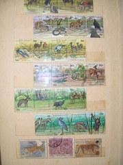 марки 1960-1980гг 1700шт