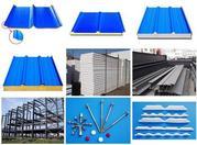 продажа сэдвич-панели, металлоконструкции, модульного здания и различных оборудований