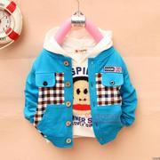 Childeku-SMT Ребенка весной 2013 года мужской верхней одежды девочки