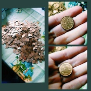 Монеты одного рубля 1992 года.