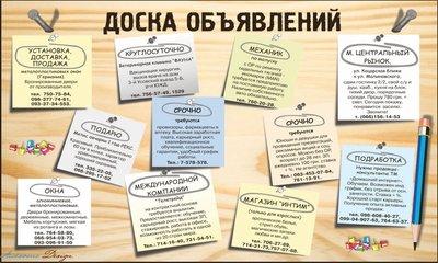 Сервис бесплатных объявлений: условия публикации