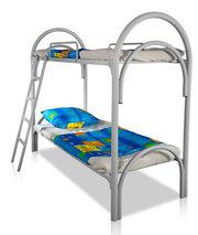 Железные кровати для рабочих,  вагончиков,  бытовок,  общежитий оптом.