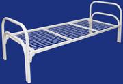 Кровати для рабочих. Двухъярусные металлические кровати.