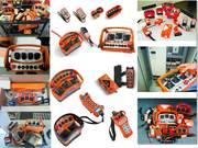 Аккумуляторы Elca,  HBC-Radiomatic,  Autec,  Hetronic,  Ikusi,  Atech,  Gro