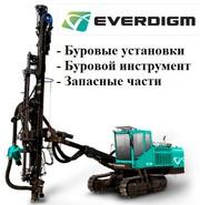 Запасные части EVERDIGM ECD 35,  ECD 40,  ECD 45,  Т450,  D700.