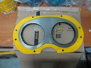 Шиберные плиты для бетононасосов DongYang, KCP, ZOOMLION, CIFA, SANY