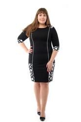 Женские платья и блузки большого размера