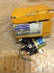 Реле нагревателя для вилочного погрузчика Hyundai 100D-7