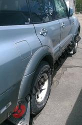 Фендера - расширители колесных арок Mitsubishi Pajero 3