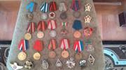 продам ордена,  медали,  значки.