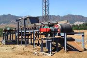 Магнитный барабан для сепарации крупных материалов CTGG-0816