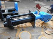 Вертикальный полупогружной шламовый насос 40PV-SPR с электродвигателем