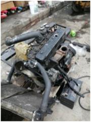 Двигатель Komatsu (Yanmar) 4TNE92 для вилочного погрузчика